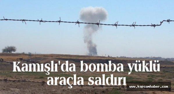 Kamışlı'da bomba yüklü araçla saldırı...