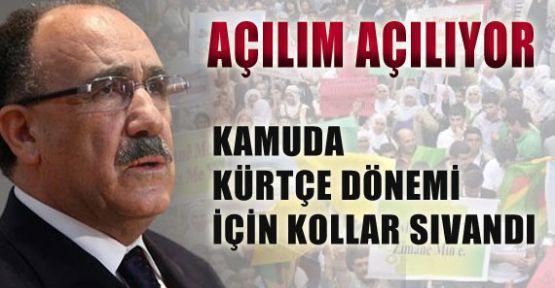 Kamuda Kürtçe Dönemi Başlıyor