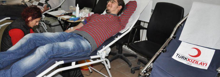 Kan bağışında yüzde 12'lik artış...