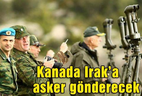 Kanada Irak'a asker gönderecek
