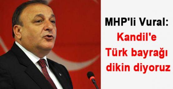 Kandil'e Türk bayrağı dikin!