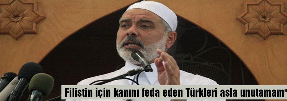 Kanını feda eden O' Türkleri asla unutamam