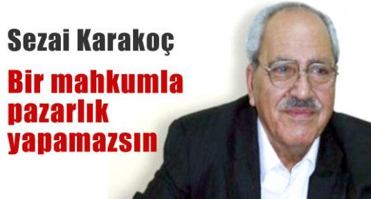 Karakoç: Devlet bu kadar acze düşmez