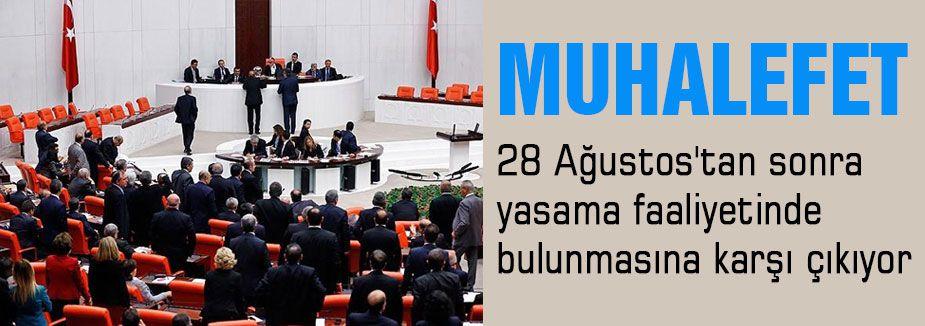 Karar sadece AKP'nin kararı