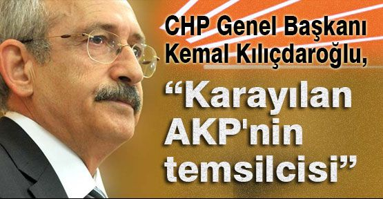 """""""Karayılan AKP'nin temsilcisi"""""""