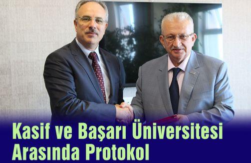 Kasif ve Başarı Üniversitesi Arasında Protokol