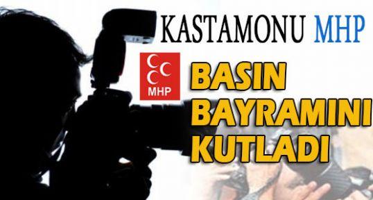 Kastamonu MHP Basın Bayramını Kutladı