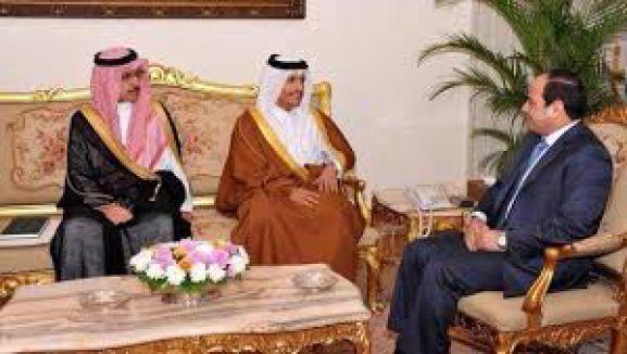 Katar, Sisi ile temasa geçmeye başladı