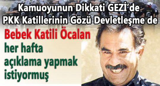 Katil Öcalan Sanki Devlet Yönetiyor!