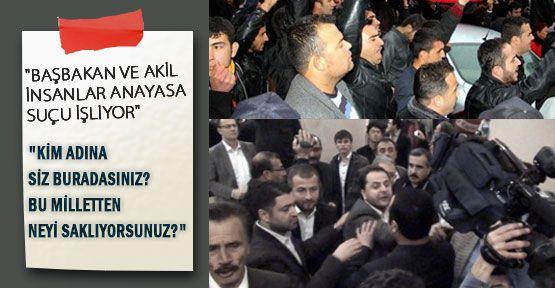 Kayseri'de Akiller İstiklal Marşında Ayağa Kalkmadı