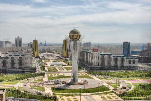 Kazakistan'da Turan Şehri...