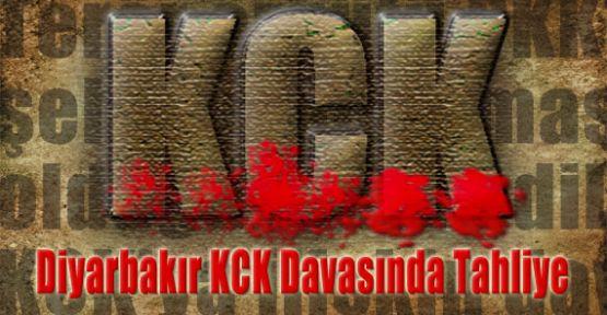 KCK Davasında Tahliye