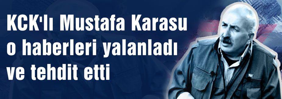 KCK'lı Karasu Silah bırakma haberini yalanladı