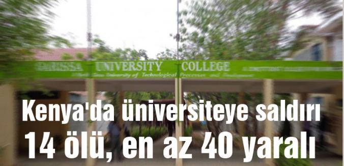 Kenya'da üniversiteye saldırı