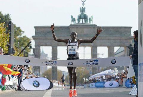 Kenyalı atlet Kimetto'tan dünya rekoru...