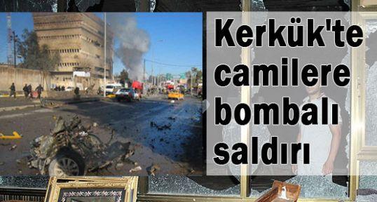 Kerkük'te camilere saldırı