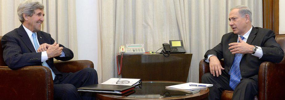 Kerry Netanyahu ile görüştü