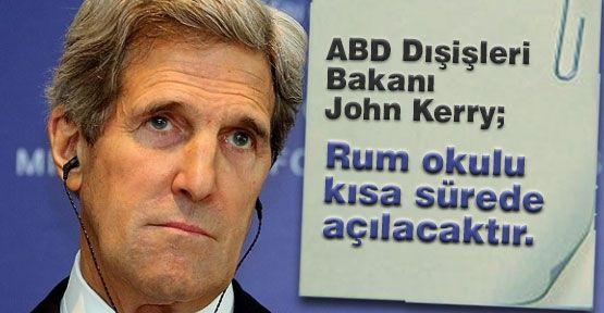 Kerry; Gazzeye Gitmese İyi Olur...