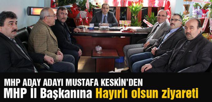 Keskin'den Samsun MHP İl Başkanına Övgü