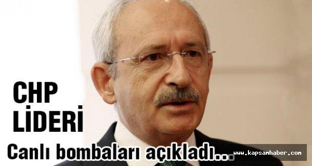 Kılıçdaroğlu Ankara olayındaki canlı bombaları açıkladı