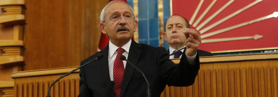Kılıçdaroğlu:' Asla geri adım atmayacağız'