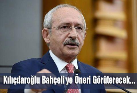 Kılıçdaroğlu Bahçeli'ye Öneri Görüterecek...