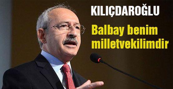 Kılıçdaroğlu Balbay'ı ziyaret etti