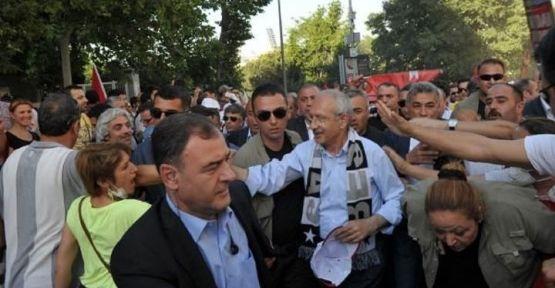 Kılıçdaroğlu Gezi Parkında...