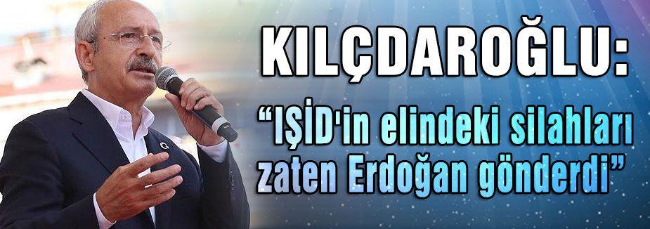 Kılıçdaroğlu: Hükümet IŞİD'E karşı tepkisiz