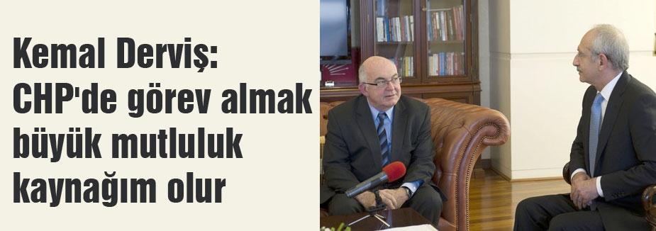 Kılıçdaroğlu kemal derviş görüşmesi...