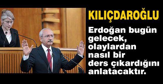 Kılıçdaroğlu; üslup çok sert!