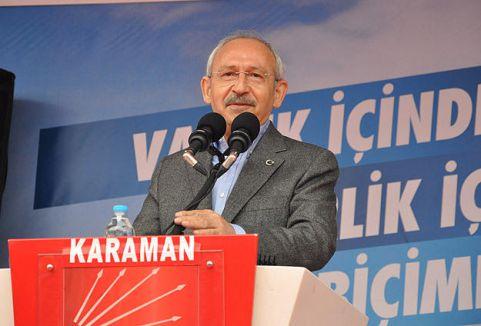 Kılıçdaroğlu:'Dürüstlükten yana oy kullanın'