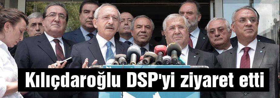 Kılıçdaroğlu'ndan DSP ziyareti