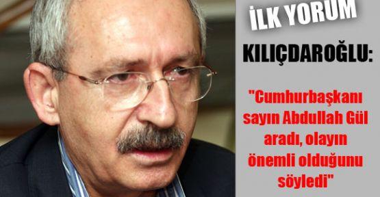 Kılıçdaroğlu'ndan kaçırılmaya  İlgili Yorum