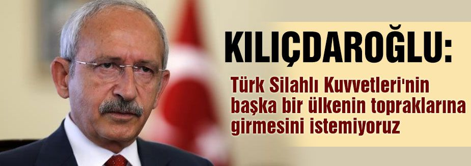 Kılıçdaroğlu'ndan  tezkere açıklaması