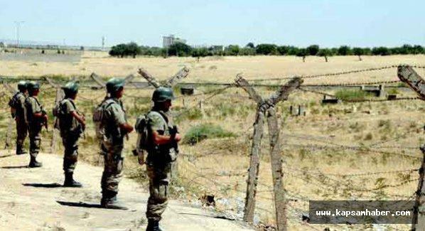 Kilis'te sınırda askerlere ateş açıldı: