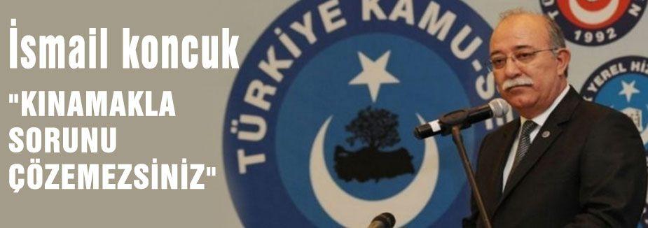 """""""KINAMAKLA SORUNU ÇÖZEMEZSİNİZ"""""""