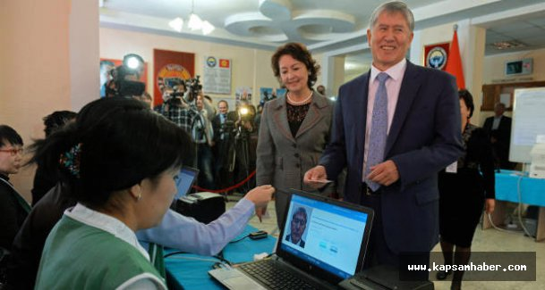 Kırgızistanlılar sandık başında
