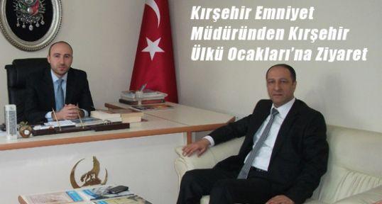 Kırşehir Emniyet Müdüründen Kırşehir Ülkü Ocakları'na Ziyaret