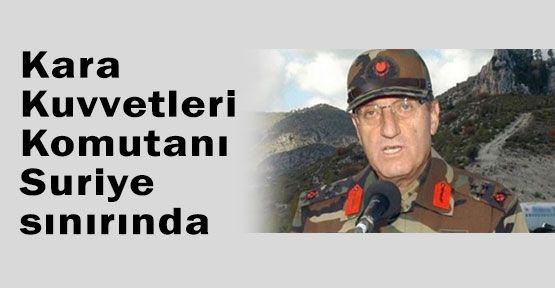 Kıvrıkoğlu, Suriye Sınırında