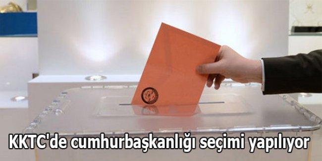KKTC'de cumhurbaşkanlığı seçimi yapılıyor