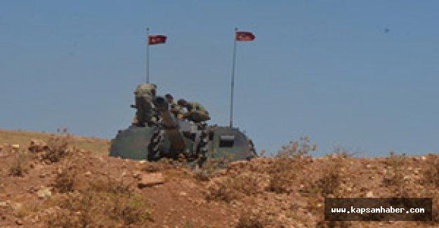 Kobani sınırına Obüs yerleştirildi