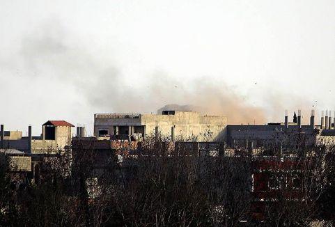 Kobani'de IŞİD hedefleri vuruldu...