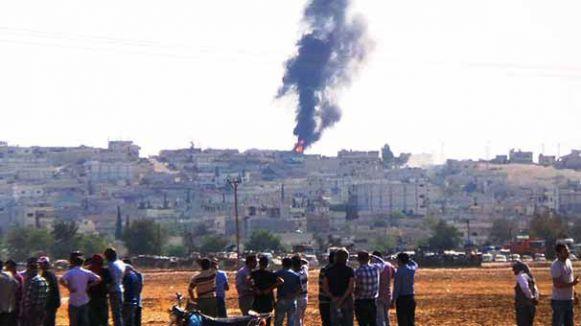 Kobani'den flaş haber.