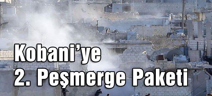 Kobani'ye 2. Peşmerge Paketi