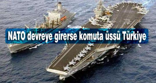 Komuta üssü Türkiye...