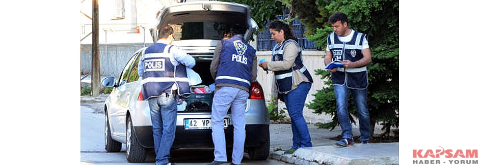 Konya'da polis operasyonu