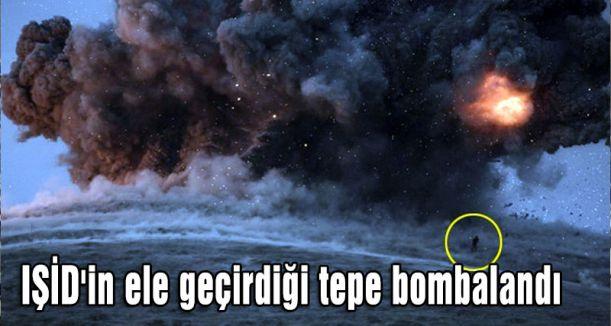 Koolisyon güçleri Tel Şeir'i fena bombaladı