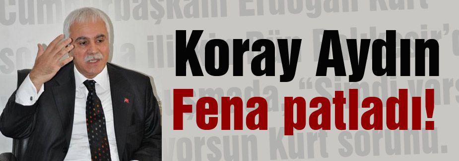 Koray Aydın Erdoğan'ın sözlerini sert dille eleştirdi