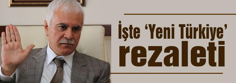 """Koray Aydın; 'İşte """"Yeni Türkiye"""" rezaleti!'"""